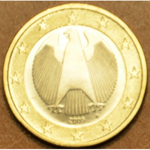 """1 Euro Germany """"A"""" 2005 (UNC)"""