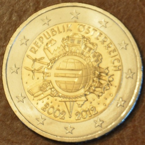 2 Euro Austria 2012 - Ten years of Euro  (UNC)