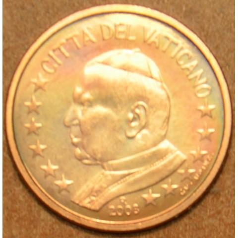 1 cent Vatican His Holiness Pope John Paul II 2003 (BU)