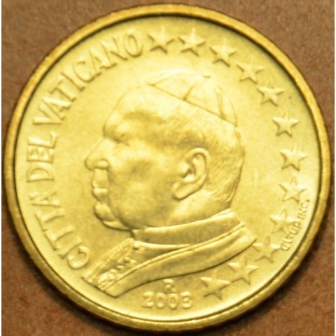 10 cent Vatican His Holiness Pope John Paul II 2003 (BU)