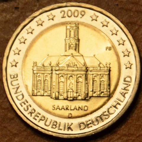 "2 Euro Germany ""D"" 2009 - Ludwigskirche in Saarbrücken (UNC)"