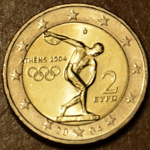2 Euro Greece 2004 - Olympic games in Athen 2004 (UNC)