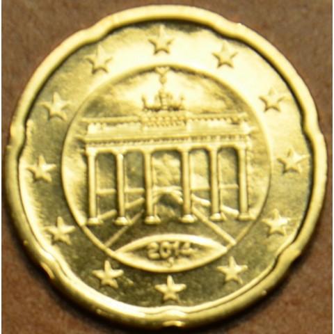 "20 cent Germany ""J"" 2014 (UNC)"