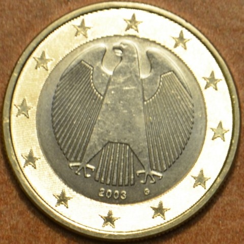 "1 Euro Germany ""G"" 2003 (UNC)"