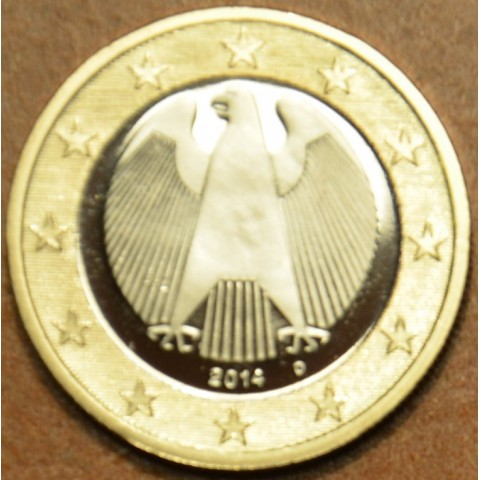 "1 Euro Germany ""D"" 2014 (UNC)"