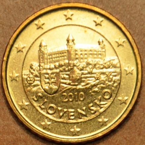 10 cent Slovakia 2010 (UNC)