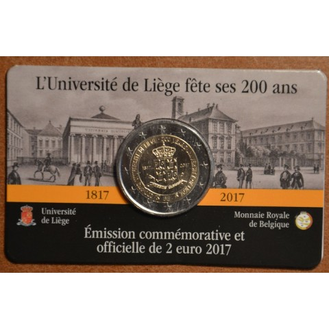 2 Euro Belgium 2017 - University of Liege (BU card)