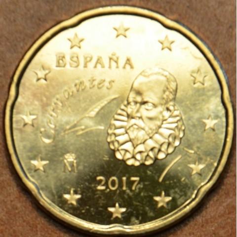 20 cent Spain 2017 (UNC)