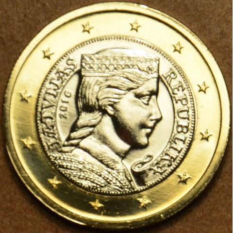 1 Euro Latvia 2016 (UNC)