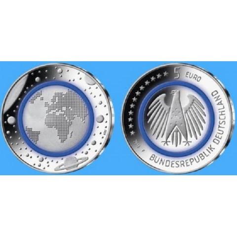 5 Euro Germany 2016 Planet Earth (UNC)