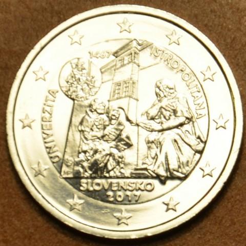 2 Euro Slovakia 2017 - Univerzita Istropolitana (Silver imitation)