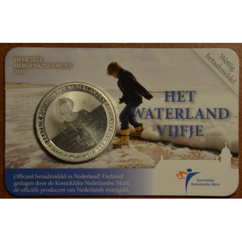 5 Euro Netherlands 2010 - Water land (BU card)