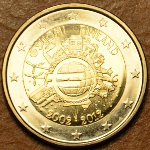 2 Euro Finland 2012 - Ten years of Euro  (UNC)
