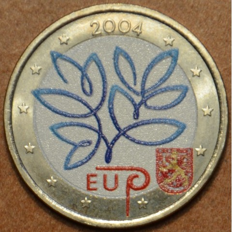 2 Euro Finland 2004 - Enlargement of the European Union by ten new Member States III. (colored UNC)