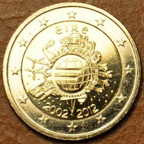 2 Euro Ireland 2012 - Ten years of Euro  (UNC)