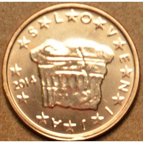 2 cent Slovenia 2014 (UNC)