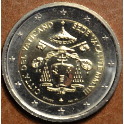 2 Euro Vatican 2013 - Sede Vacante (UNC)