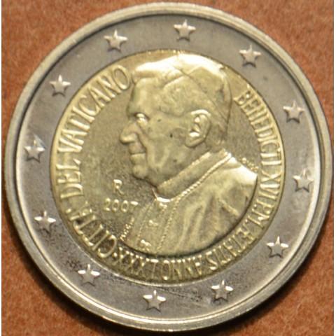 2 Euro Vatican 2007 - 80. birthday of Pope Benedictus XVI (UNC w/o folder)