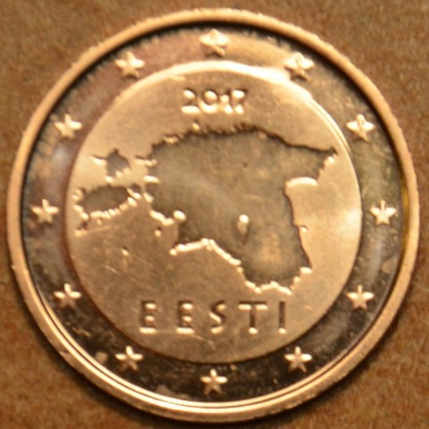 2 cent Estonia 2017 (UNC)