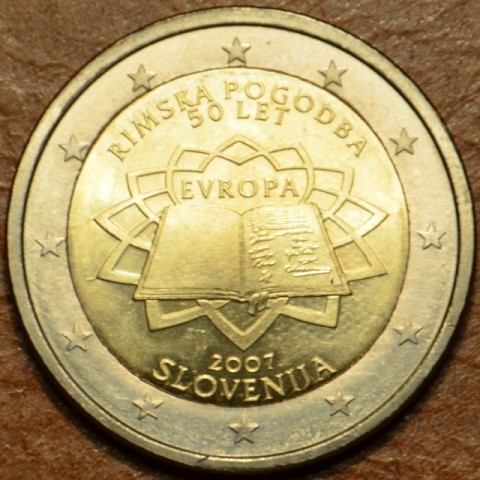 2 Euro Slovenia 2007 - 50th anniversary of the Treaty of Rome (UNC)