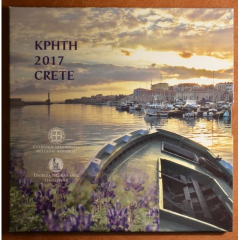 Greece 2017 set of coins - Crete (BU)