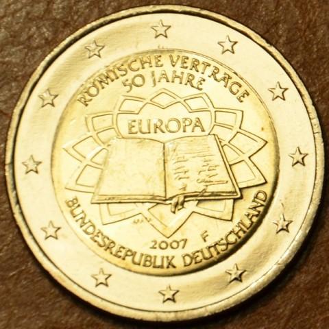 "2 Euro Germany ""F"" 2007 - 50th anniversary of the Treaty of Rome (UNC)"