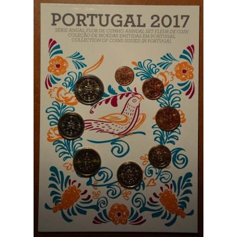 Set of 8 coins Portugal 2017 (UNC)