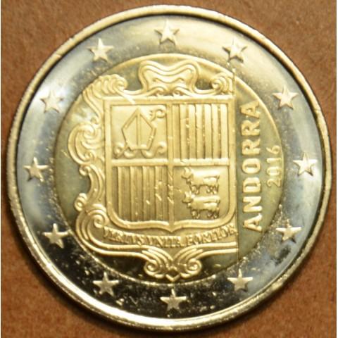 2 Euro Andorra 2016 (UNC)