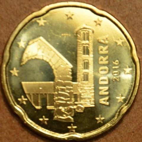 20 cent Andorra 2016 (UNC)