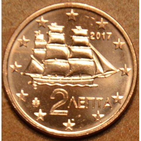 2 cent Greece 2017 (UNC)