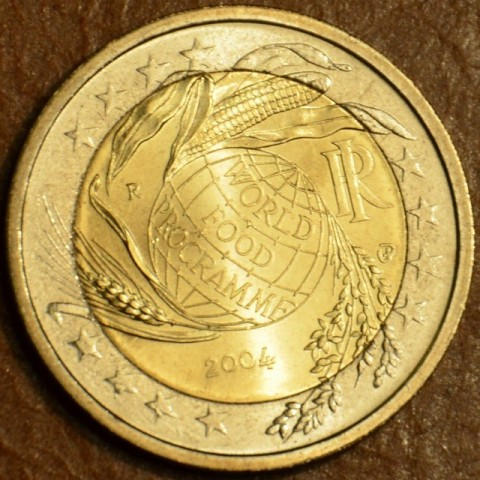 2 Euro Italy 2004 - Fifth Decade of the World Food Programme (UNC)