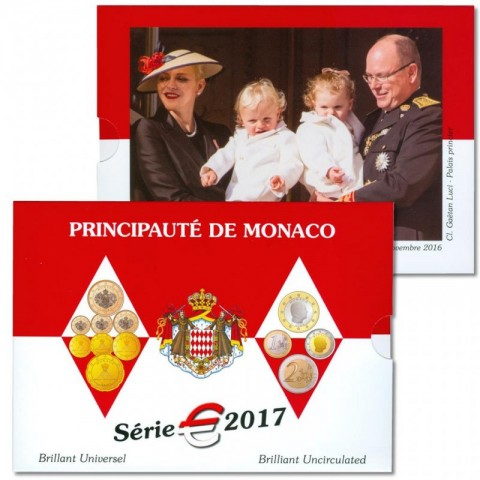 Euro set Monaco 2017 (BU)