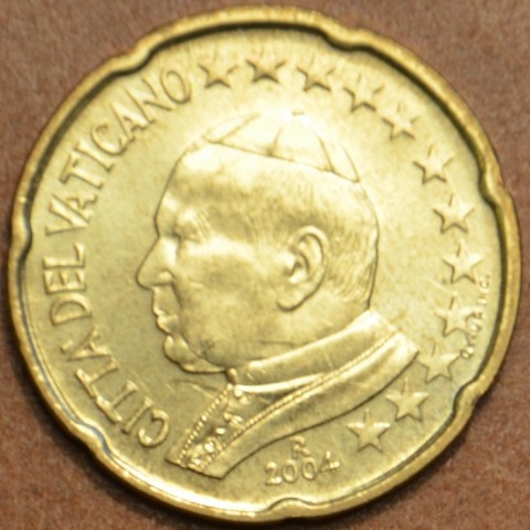 20 cent Vatican His Holiness Pope John Paul II 2004 (BU)