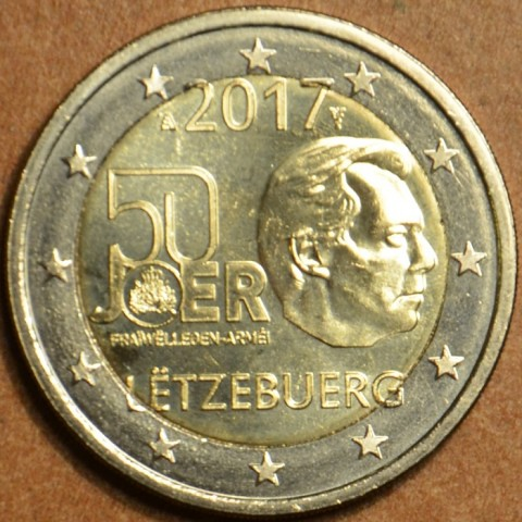 2 Euro Luxembourg 2017 - Military service (UNC)