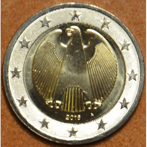 "2 Euro Germany ""A"" 2016 (UNC)"