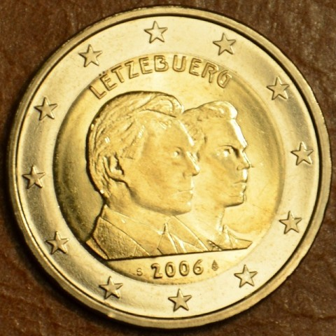 2 Euro Luxembourg 2006 - 25th Birthday of Hereditary Grand Duke Guillaume (UNC)