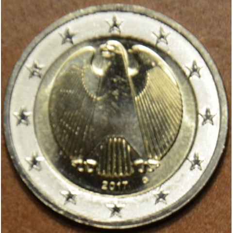 "2 Euro Germany ""G"" 2017 (UNC)"