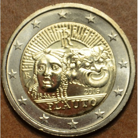 2 Euro Italy 2016 - 2200th anniversary of the death of Plautus  (UNC)