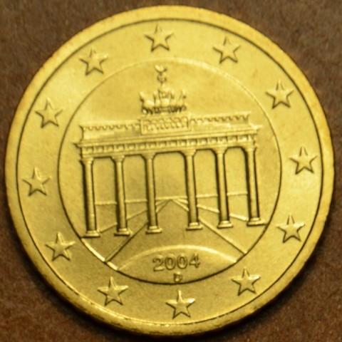 """50 cent Germany """"D"""" 2004 (UNC)"""