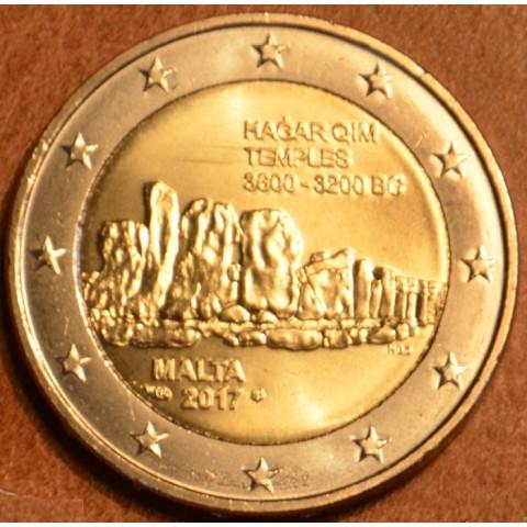 """2 Euro Malta 2017 """"F"""" - Hagar Qim (UNC)"""