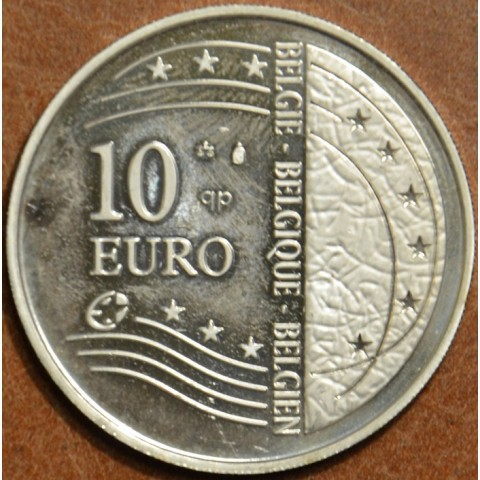 10 Euro Belgium 2004 Enlargement of EU (Proof in plastic bag)