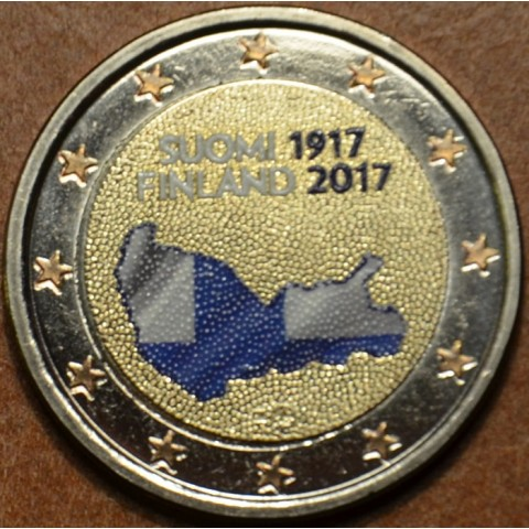 2 Euro Finland 2017 - 100 years of independence (colored UNC)