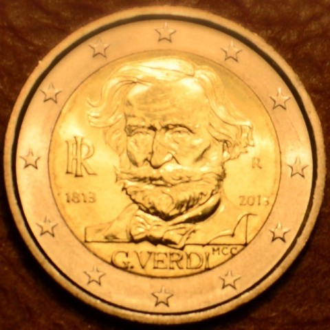 2 Euro Italy 2013 - 200th Anniversary of the Birth of Giuseppe Verdi (UNC)