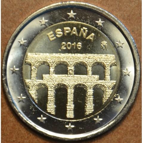 2 Euro Spain 2016 - Aqueduct of Segovia (UNC)