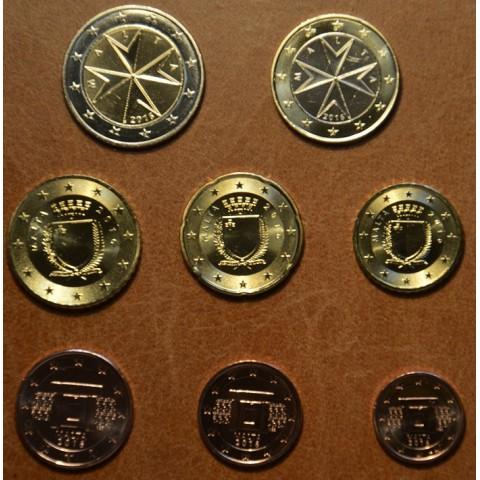 Set of 8 eurocoins Malta 2016 (UNC)