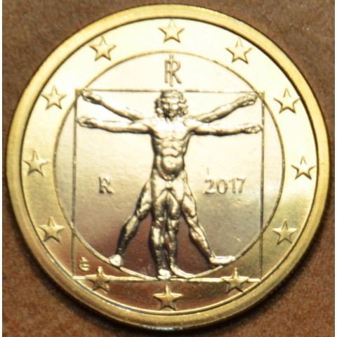 1 Euro Italy 2017 (UNC)