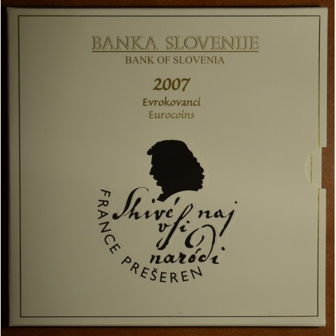 Set of 8 coins Slovenia 2007 (BU)