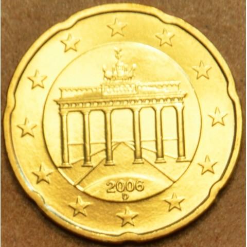 """20 cent Germany """"D"""" 2006 (UNC)"""