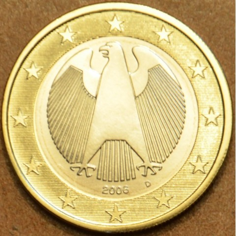 "1 Euro Germany ""D"" 2006 (UNC)"