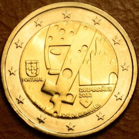 2 Euro Portugal 2012 - Guimarães - Capital Europeia da Cultura em 2012 (UNC)
